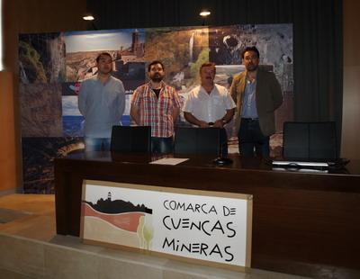 Presentación oficial del nuevo portal web del Museo Minero de Escucha en la sede comarcal de Cuencas Mineras