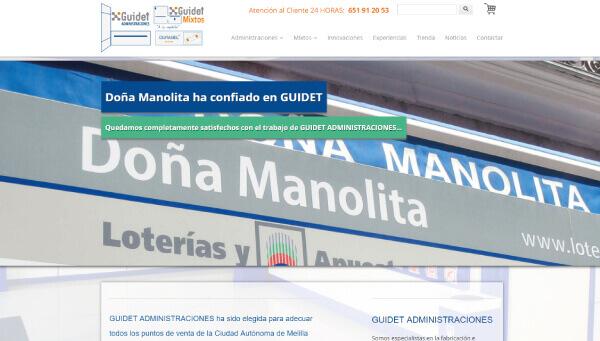GUIDET Administraciones | Estrena imagen y comercio electrónico en la red