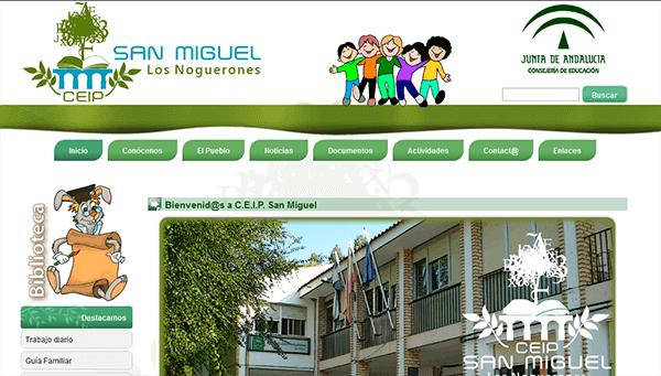 Sitio Web del C.E.I.P. San Miguel