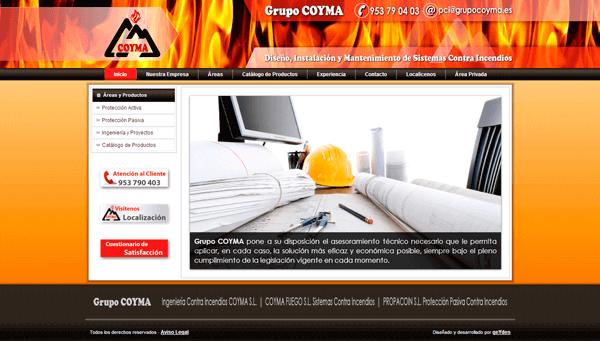 Grupo COYMA | Protección Contra Incendios