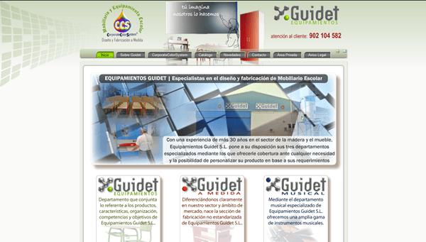GUIDET Equipamientos | Fabricantes de Mobiliario y Equipamiento Escolar