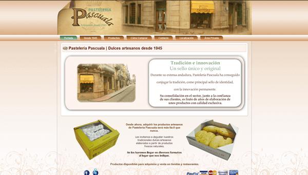 Acceda a la Aplicación Online de Pastelería Online | Dulces Artesanos desde 1945