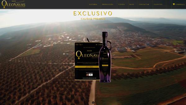 Aceites OLEONAVAS | Abre sus puertas a Internet