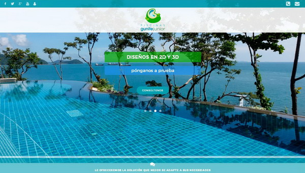 Piscinas Gunite Junior | El agua y el placer del verano...