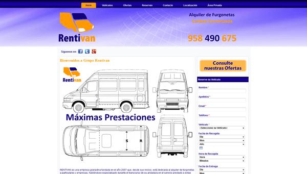 Grupo RENTIVAN | Alquiler de Furgonetas