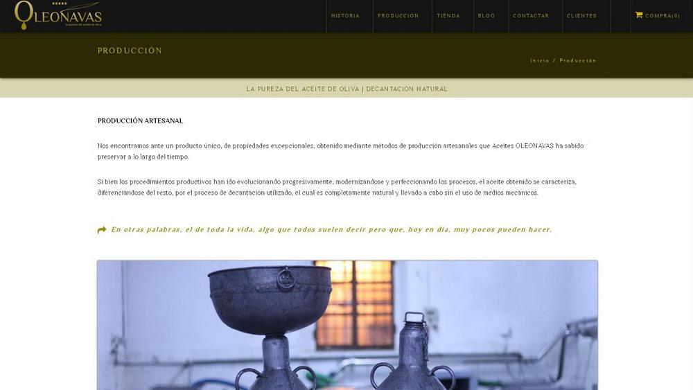Aceites OLEONAVAS | geYdes