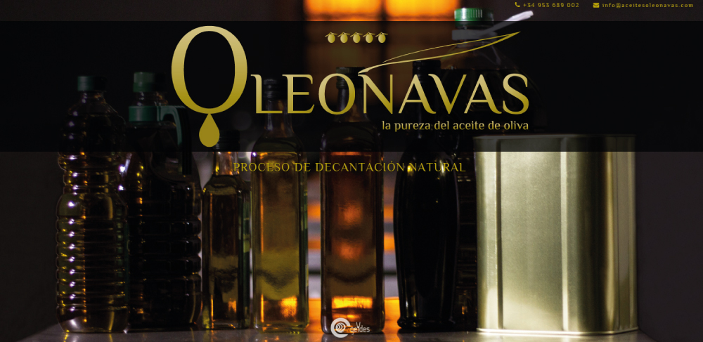 Diseño web Jaén | Aceites Oleonavas