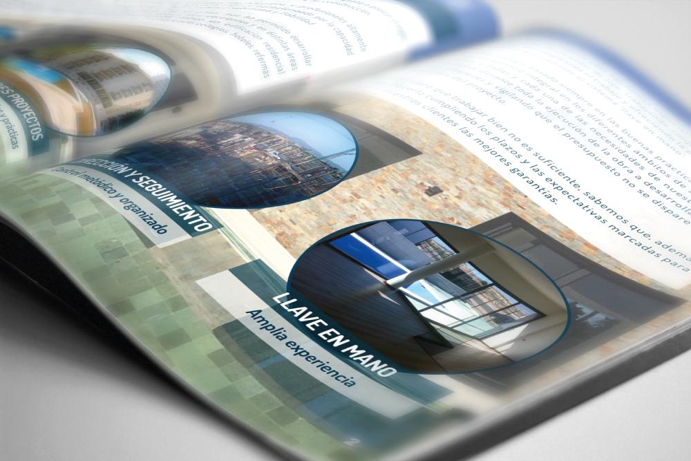 Diseño y desarrollo de elementos corporativos para CYCOMSA