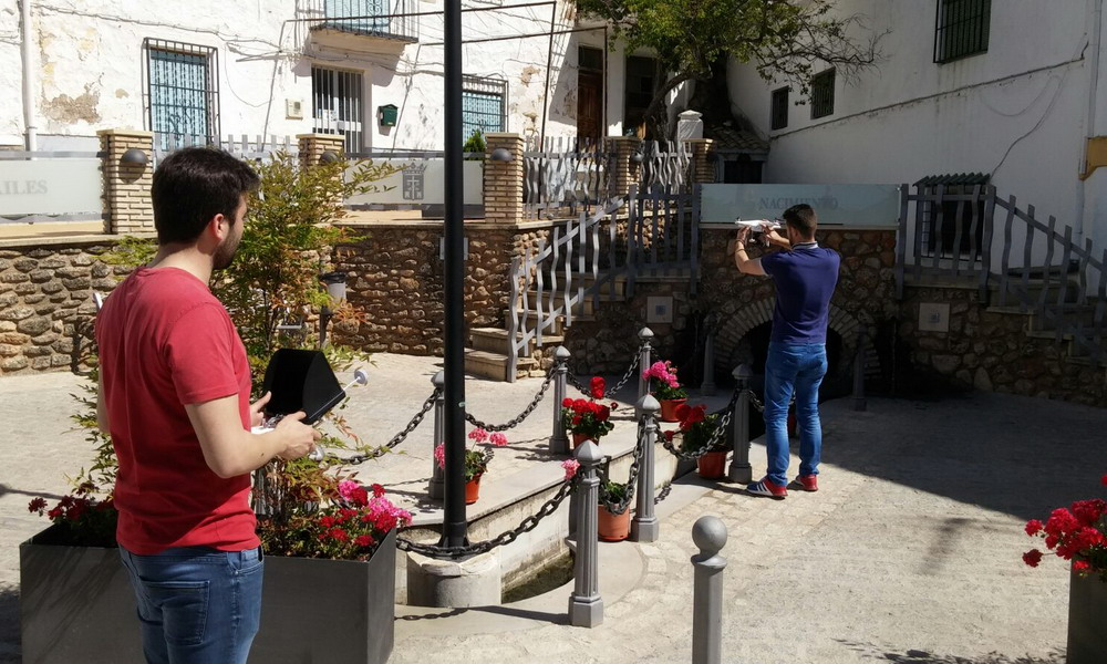 Día de grabación y disfrute en Frailes