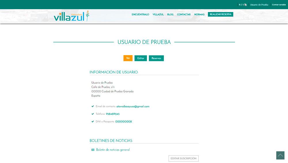 Sistema de reservas online en tiempo real