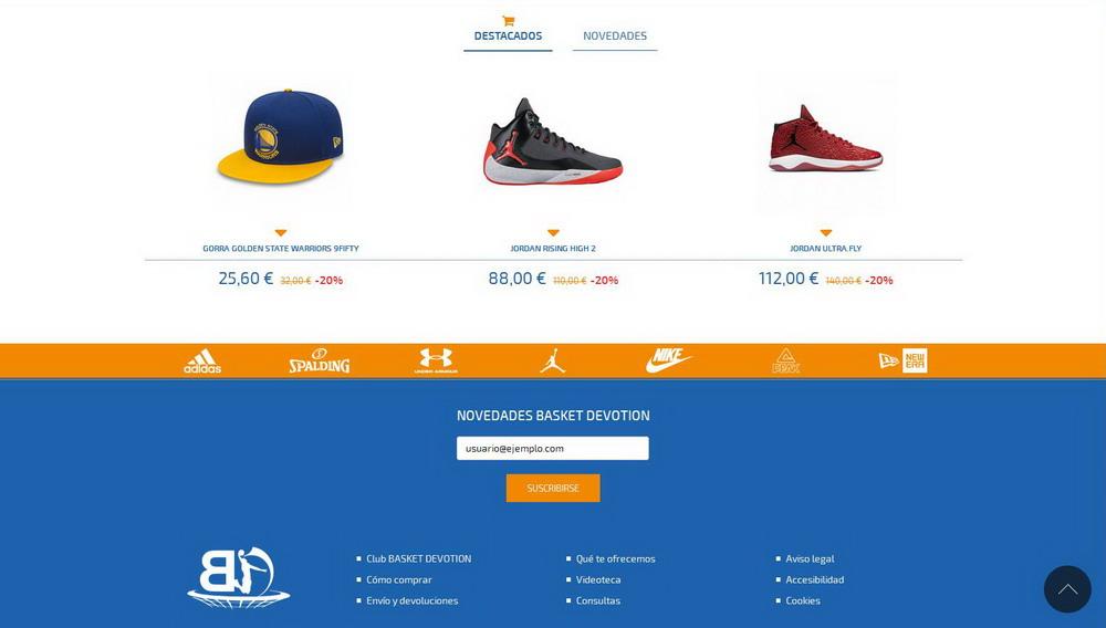 Basket Devotion | Página web baloncesto Granada