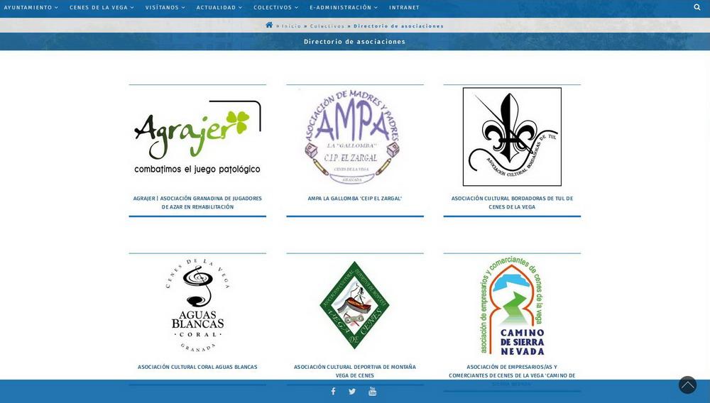 Diseño web Granada | Ayuntamiento Cenes de la Vega
