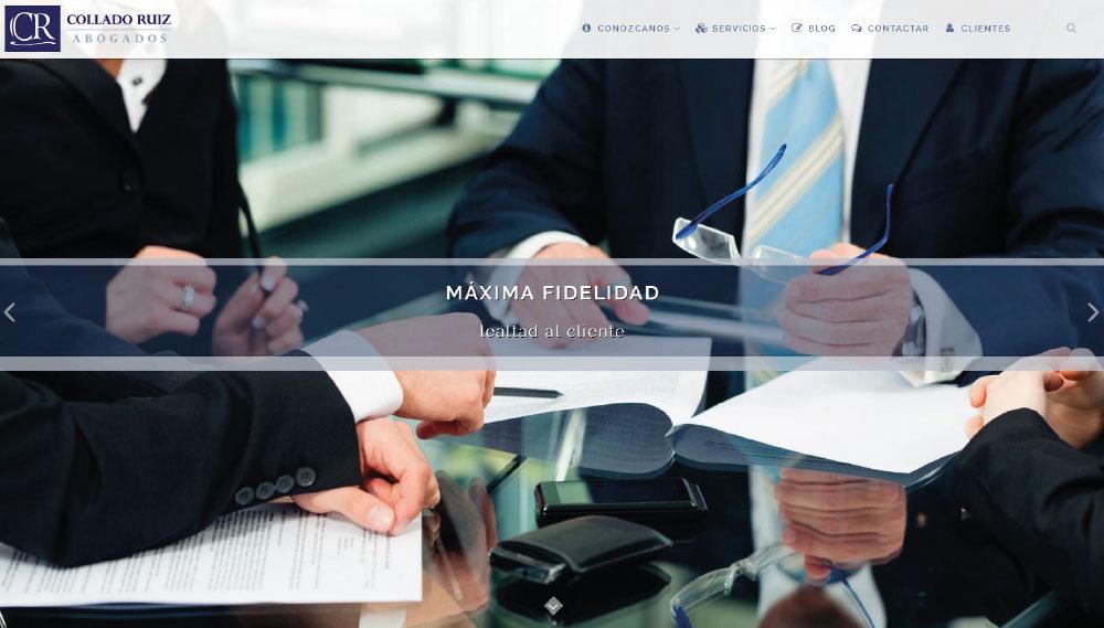Diseño de Página Web para Abogados
