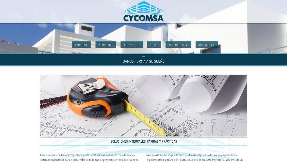 CYCOMSA | Página web construcción Málaga