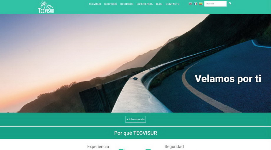 La nueva imagen corporativa de TECVISUR en la Red