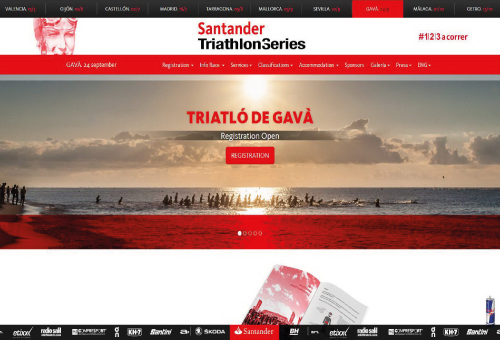 WIN SPORTS FACTORY | Santander Triathlon Series - Gavà