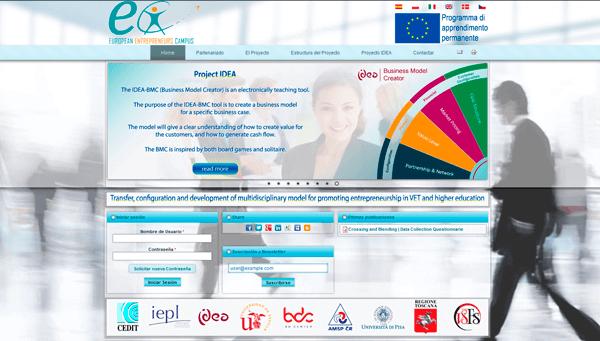 EEC Project | European Entrepreneurs Campus